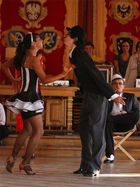 pokaz tańca towarzyskiego Opole